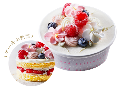 ミニデコレーションケーキ